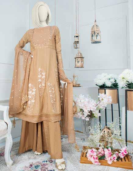 Brown formal wear