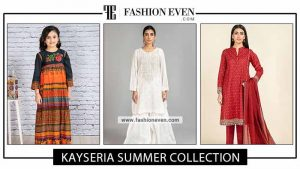 Kayseria summer dress design for ladli, stitched and unstitched