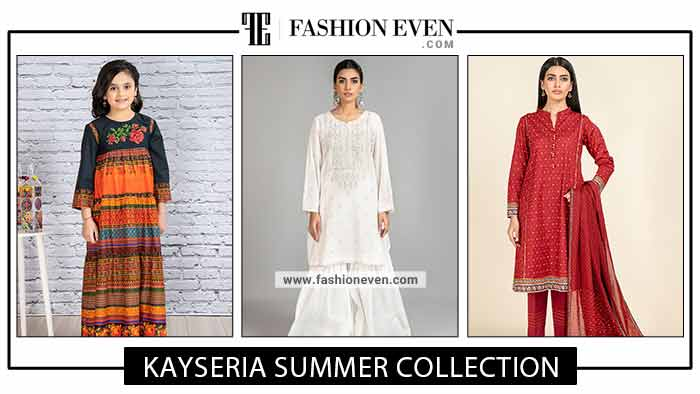 Kayseria Summer Collection 2021 | Ladli, Stitched And Unstitched Dress Designs