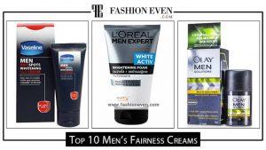 Top men's fairness creams in Pakistan