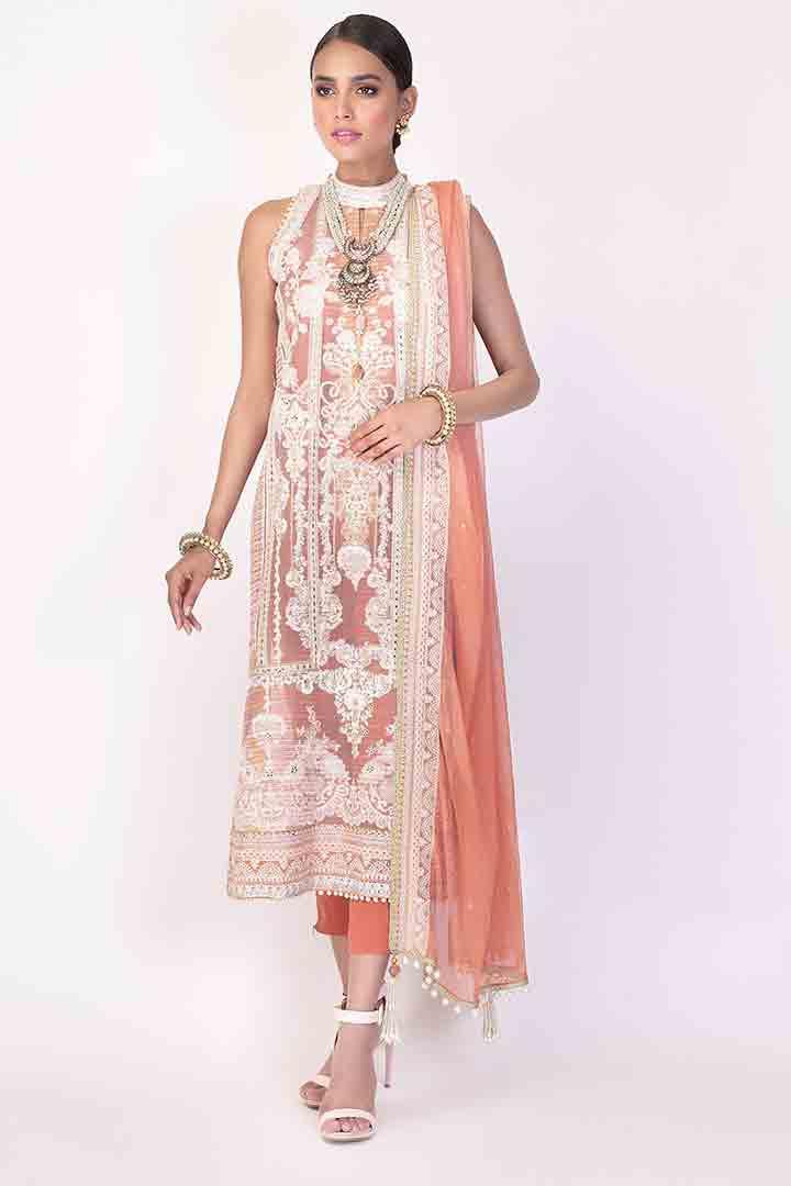 Beautiful eid dress by Alkaram