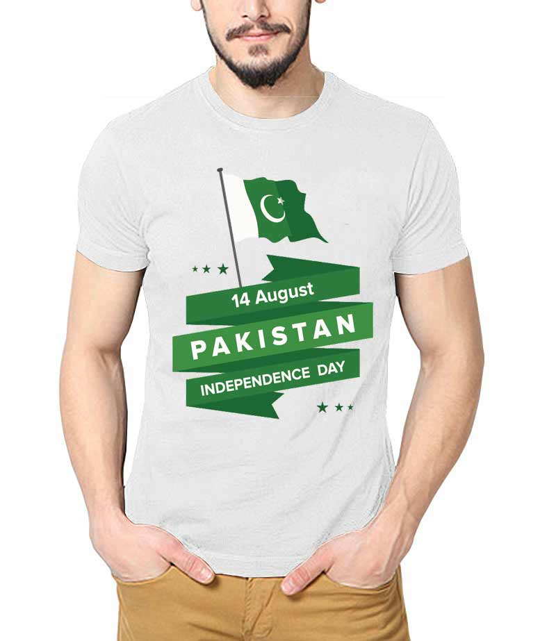 14 August Pakistan independence day T-shirt