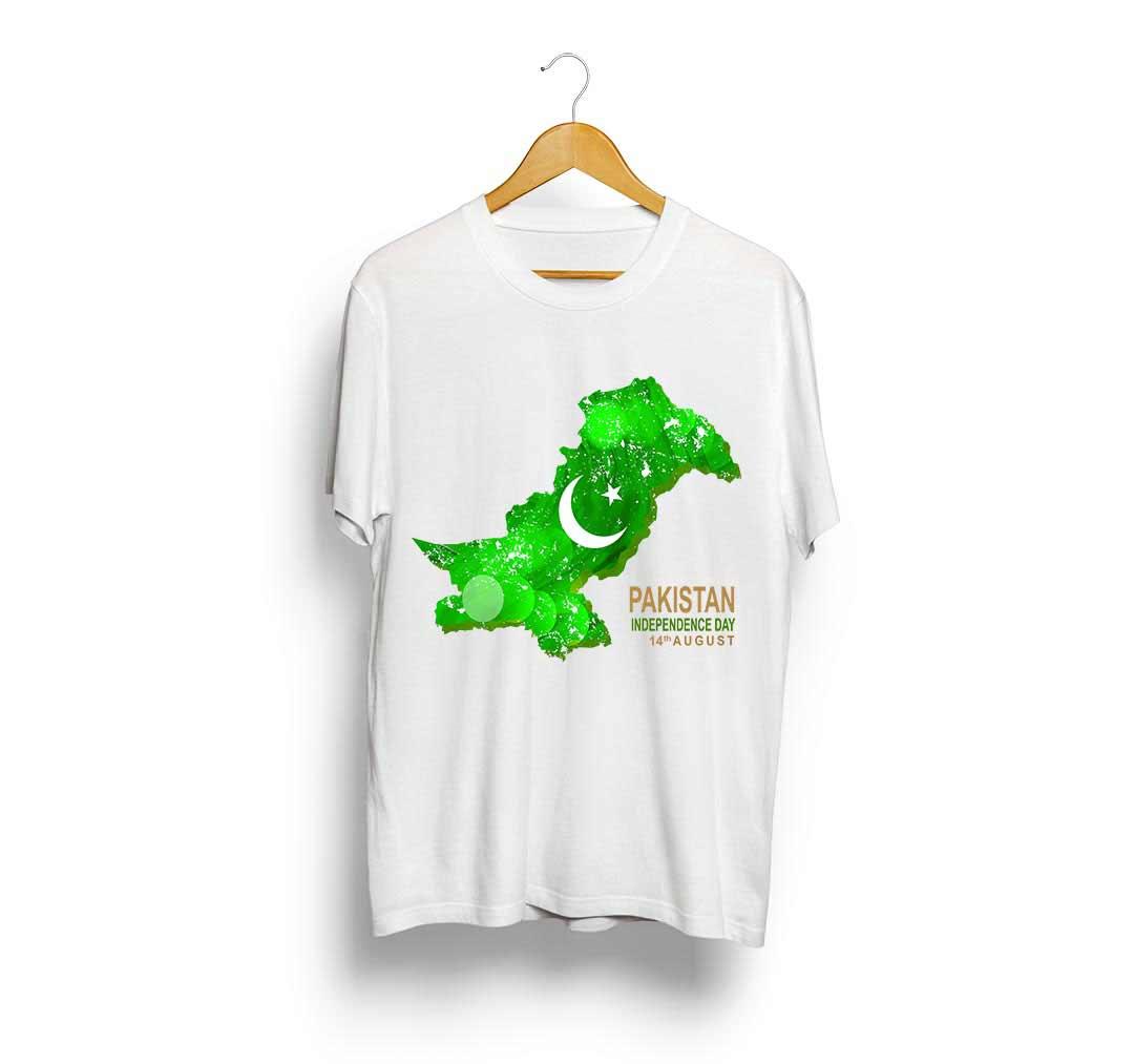 Pakistan map t-shirt designs for boys