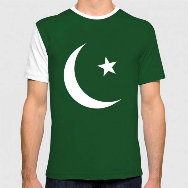 Pakistani flag tee for boys